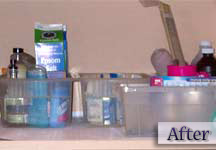 Organized closet, professional organizer Greensburg